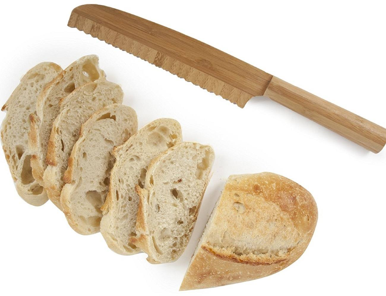 Bamboo Bread Knife
