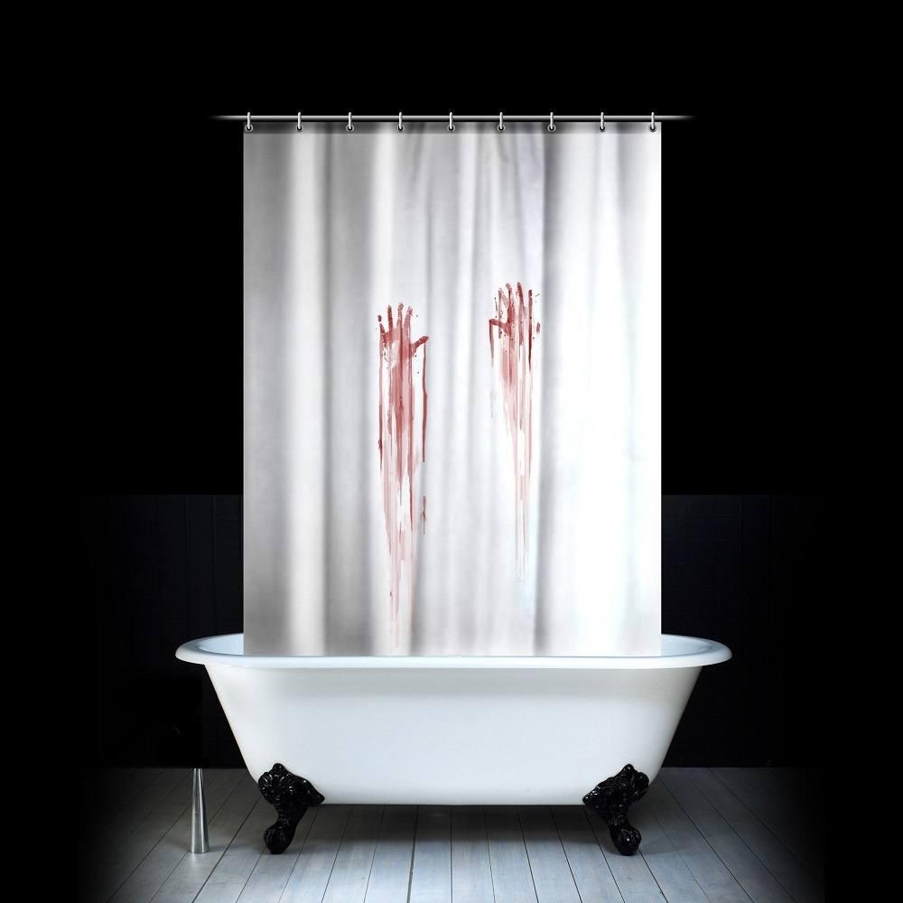Blood Bath Shower Curtain » Gadget Flow