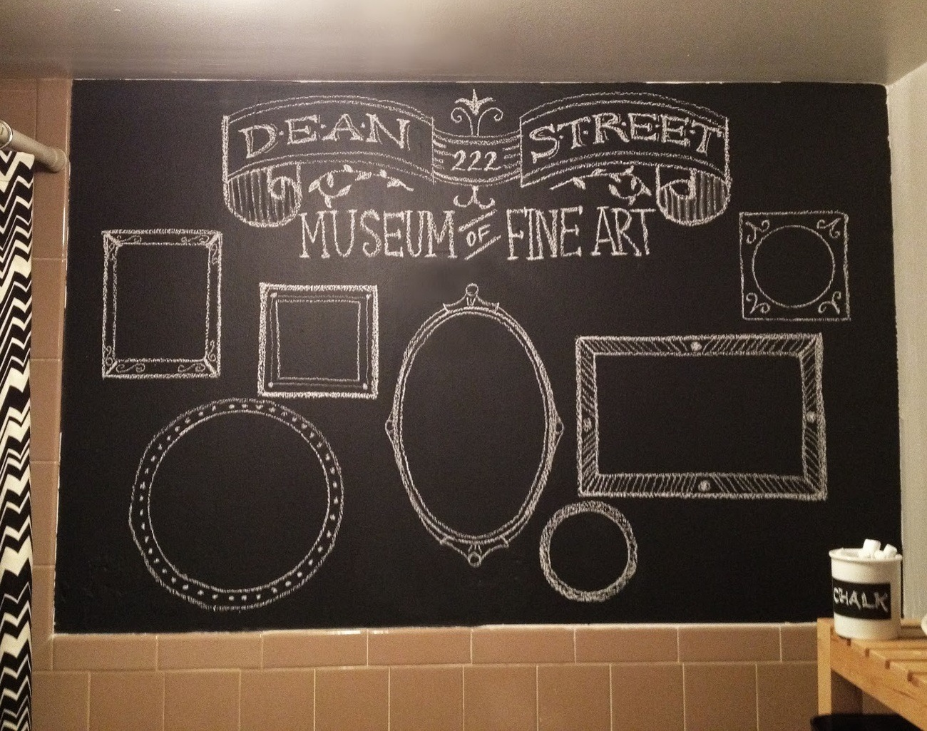 Chalkboard Brush