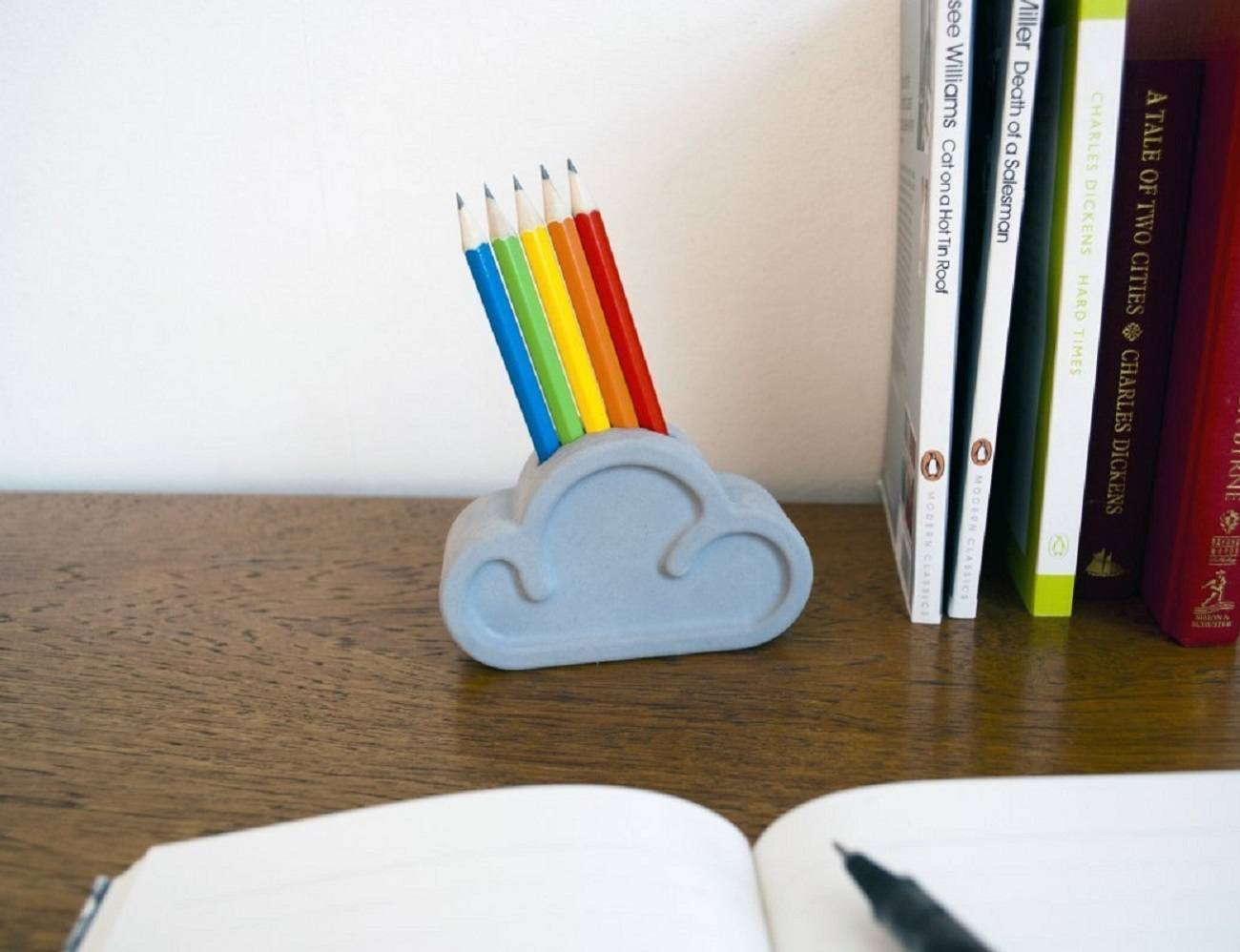 Cloud Pencil And Eraser Set