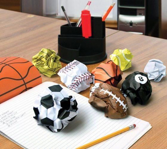 Crumple Ball Notepad