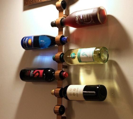 Mounted+Wine+Bottle+Holder