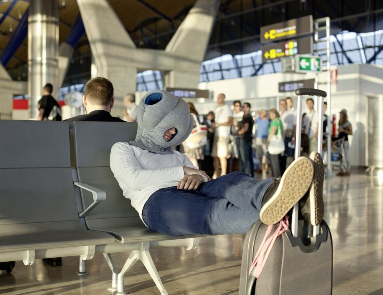 Ostrich Nap Pillow 187 Gadget Flow
