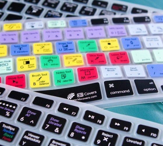 Photoshop Shortcuts Keyboard Skin