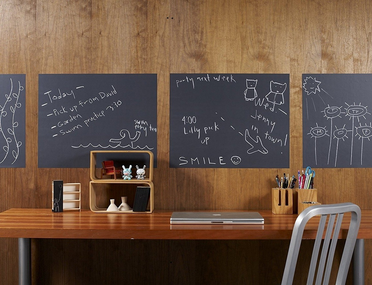 Removable Chalkboard Wallies