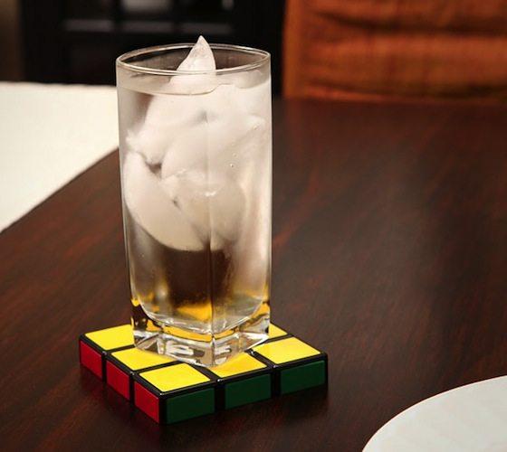 Rubik Cube Coasters