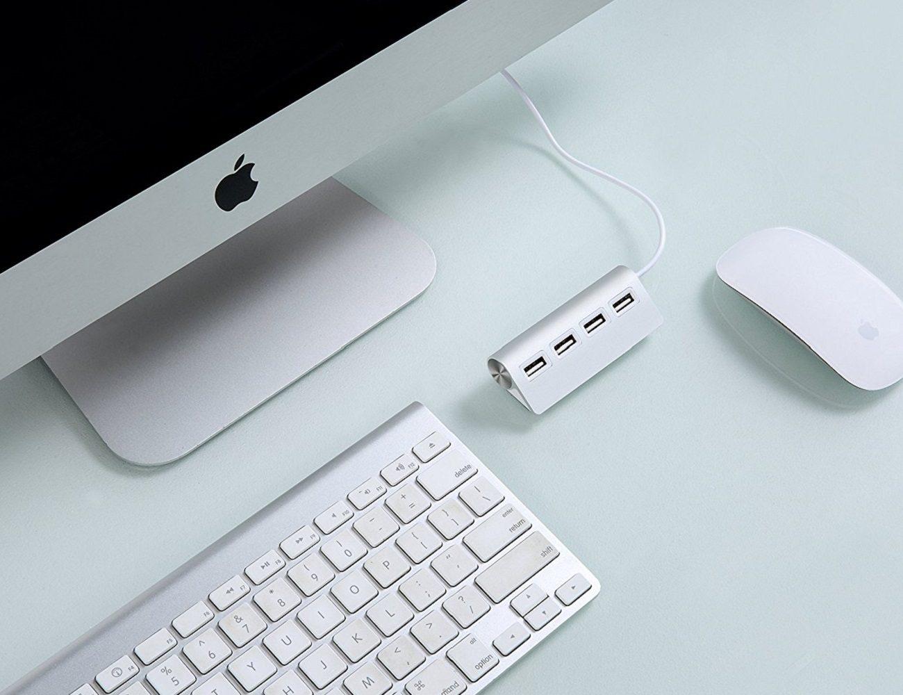 Satechi Premium 4 Port Aluminum USB Hub » Gadget Flow