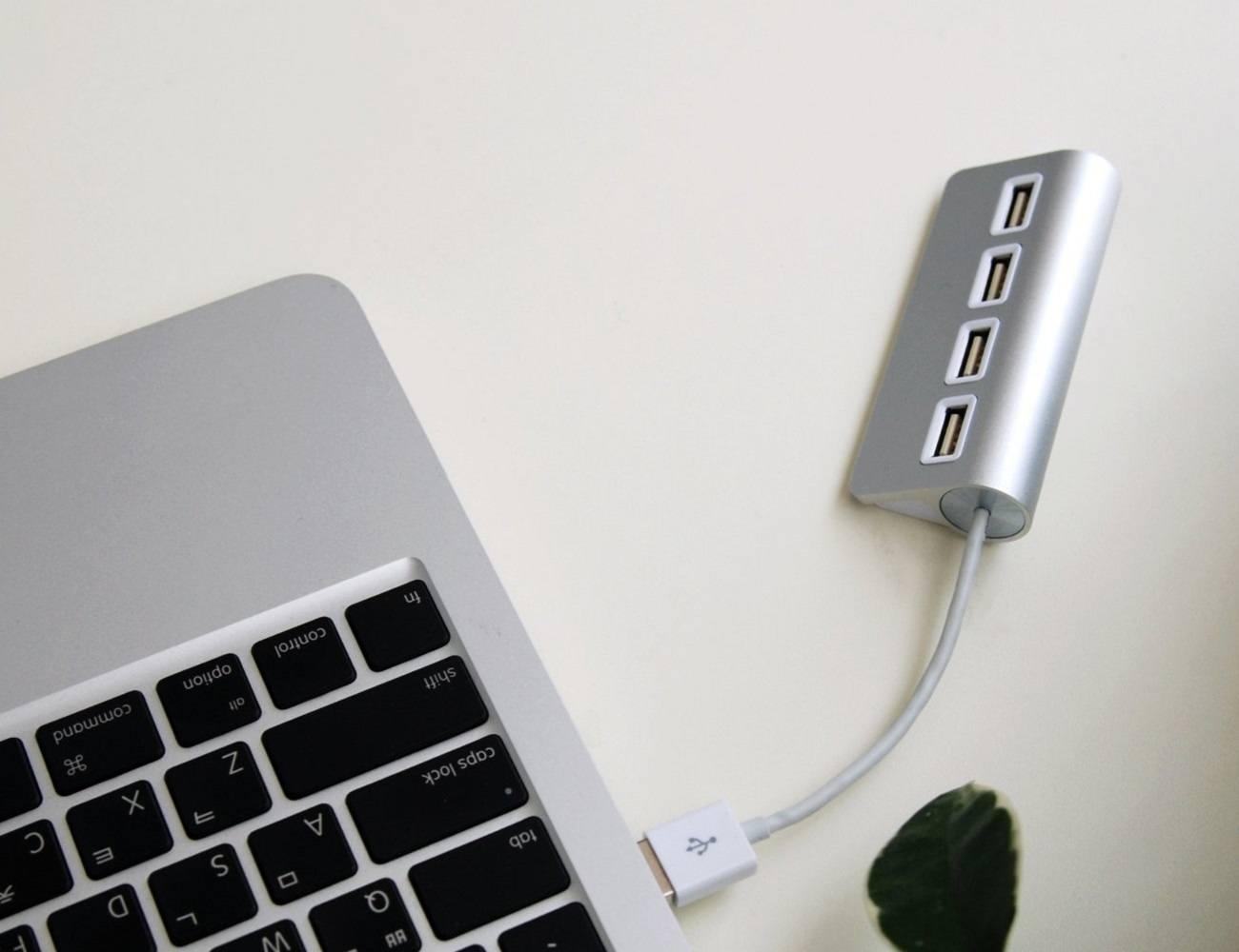 Satechi Premium 4 Port Aluminum USB Hub