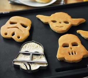 Star Wars Pancake Molds - $23 | The Gadget Flow
