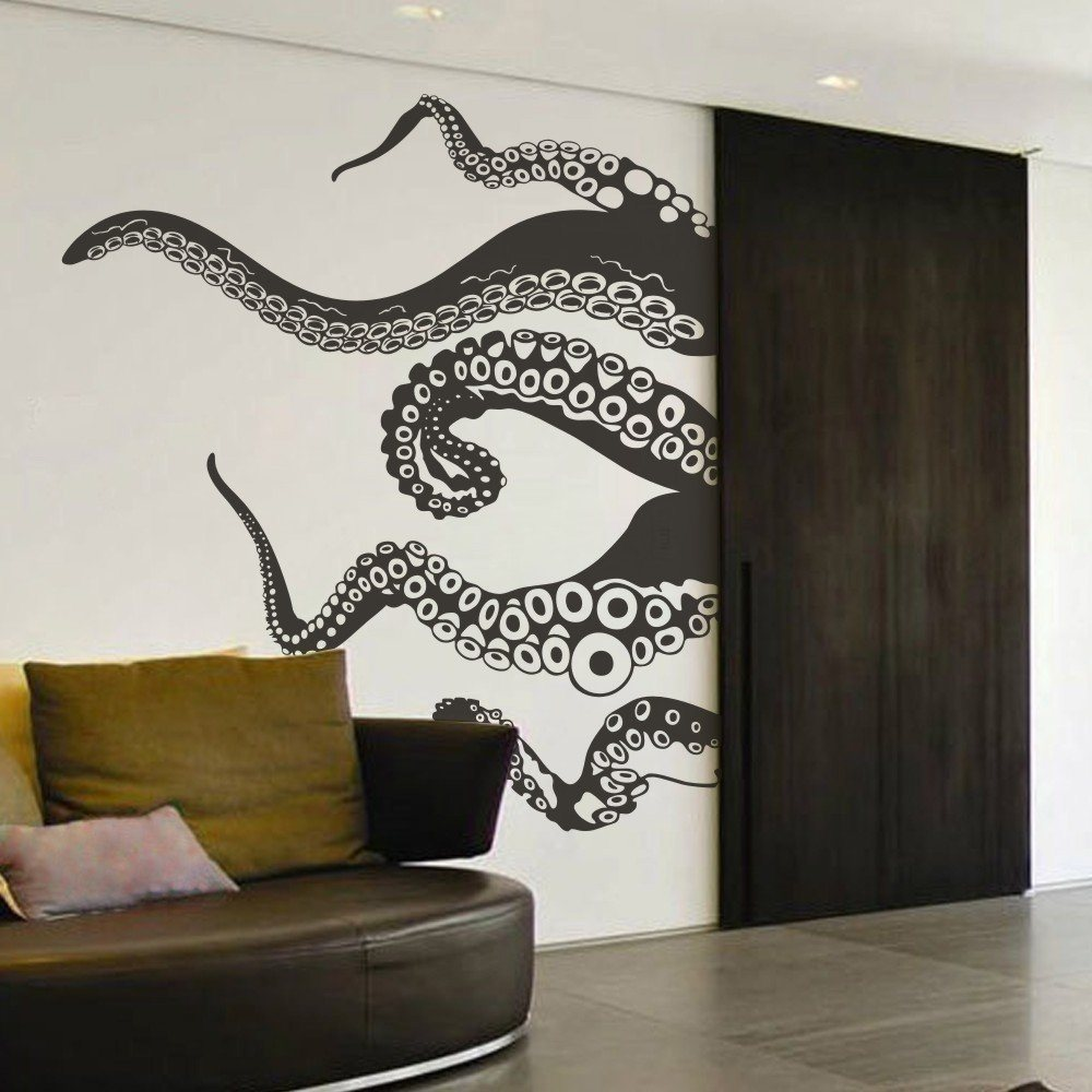 Tentacle Wall Decal 187 Gadget Flow