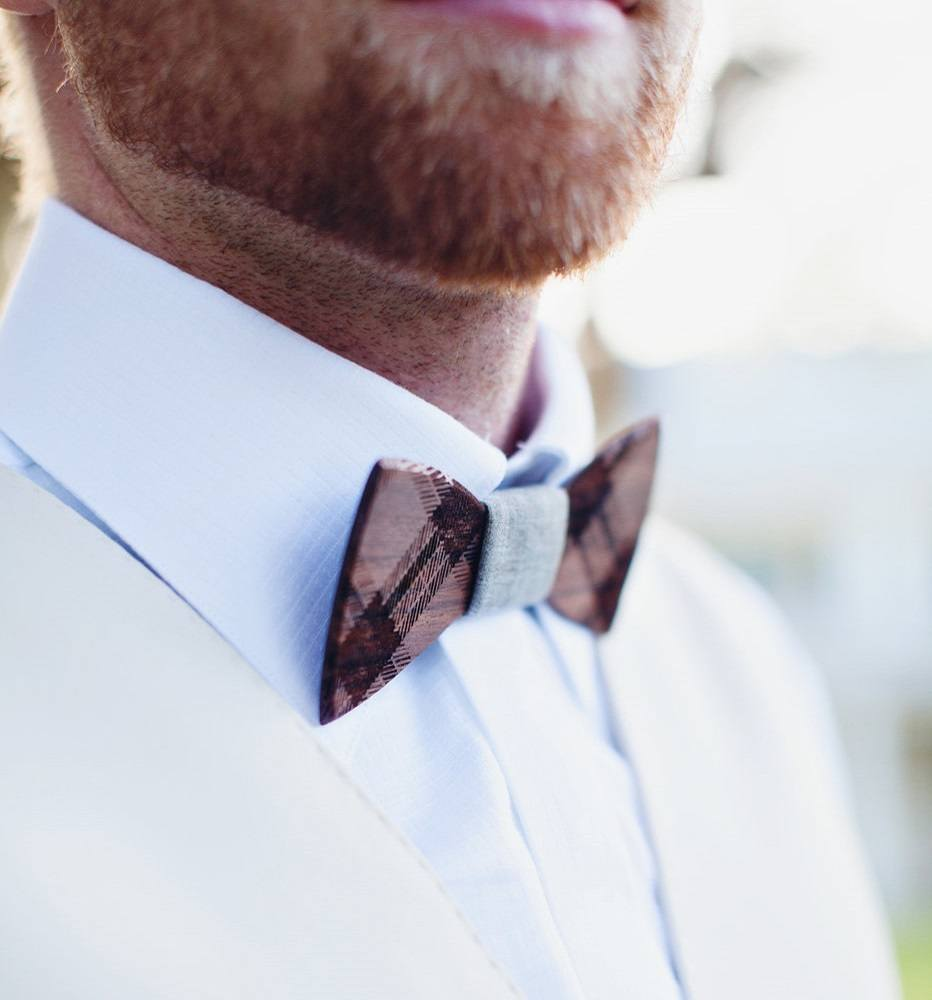 Unique Wooden Bow Ties