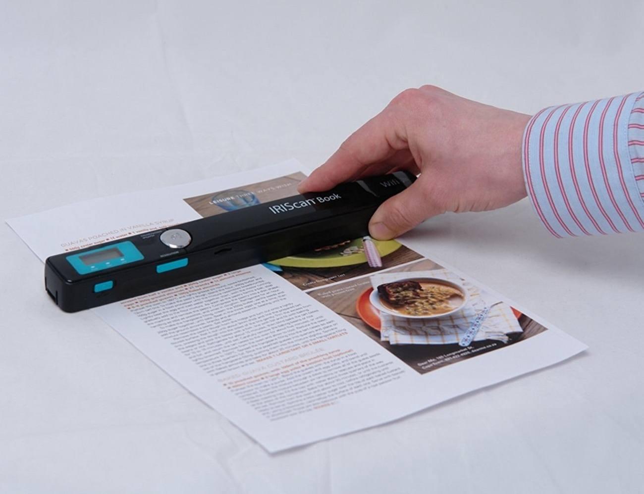 Book Scanner By IRIScan