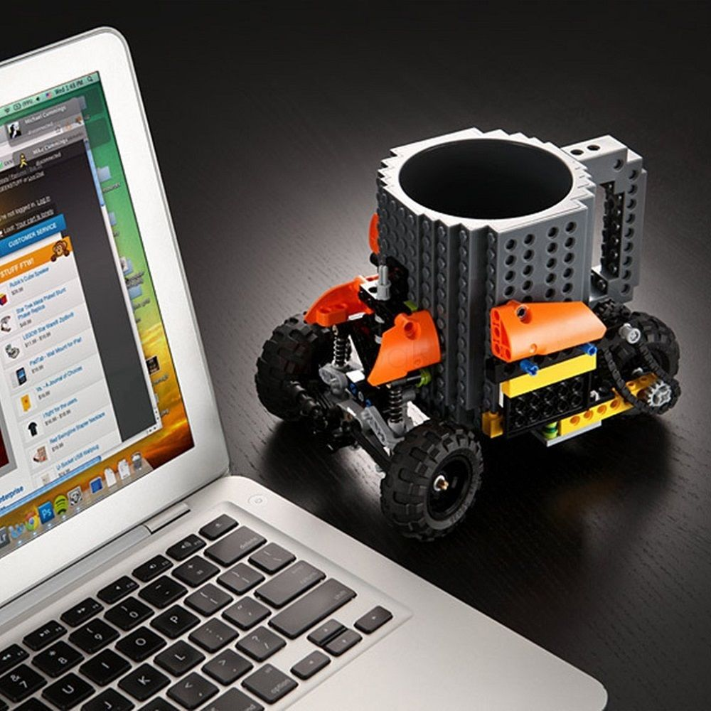 Build-On Brick Mug LEGO-style cup is sure to start conversations