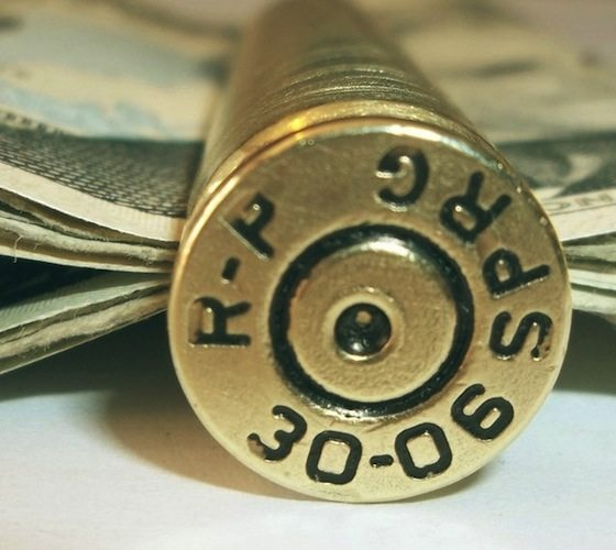 Bullet Casing Money Clip