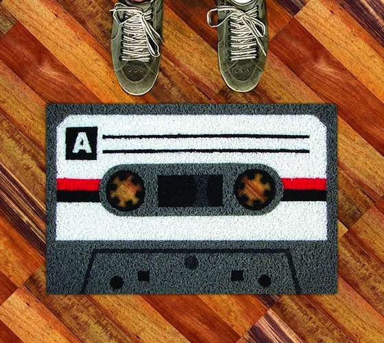 Cassette+Tape+Welcome+Mat