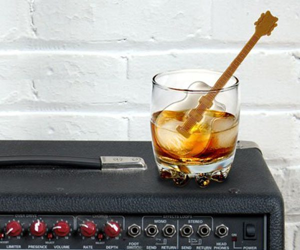 Cool Jazz Guitar Ice Cube Stirs