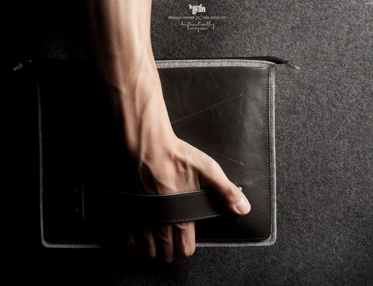 Grab Laptop Folio By Hard Graft