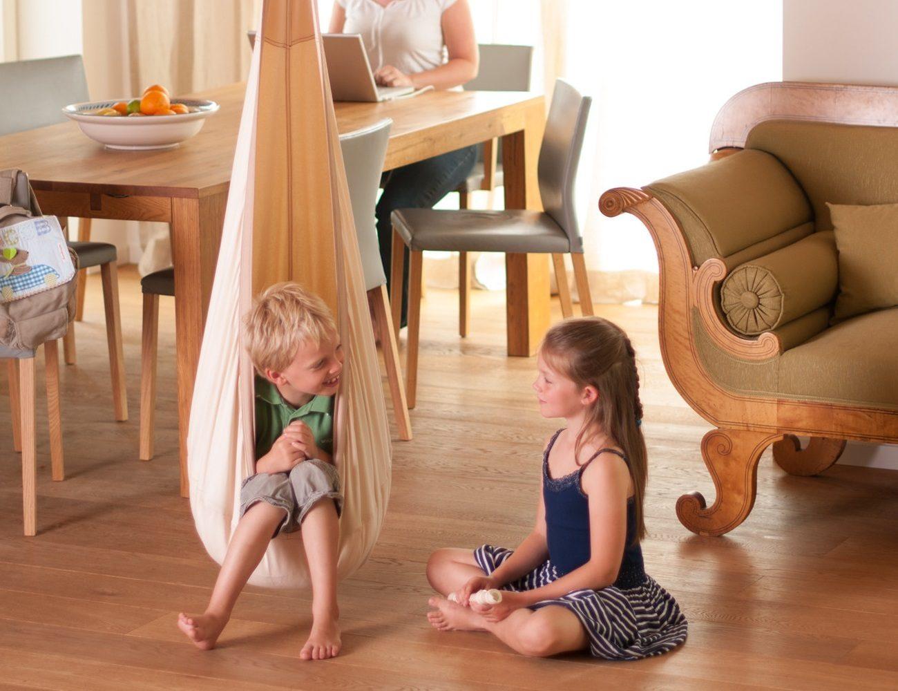 LA SIESTA Child Posture Friendly Hanging Crow's Nest Seat and Pod Hammock