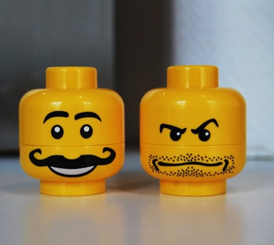 Lego Minifigure Salt & Pepper Set
