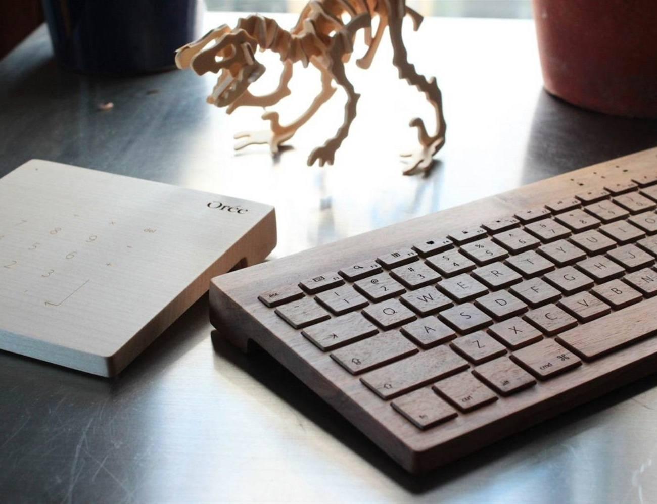 Oree Wooden Keyboard
