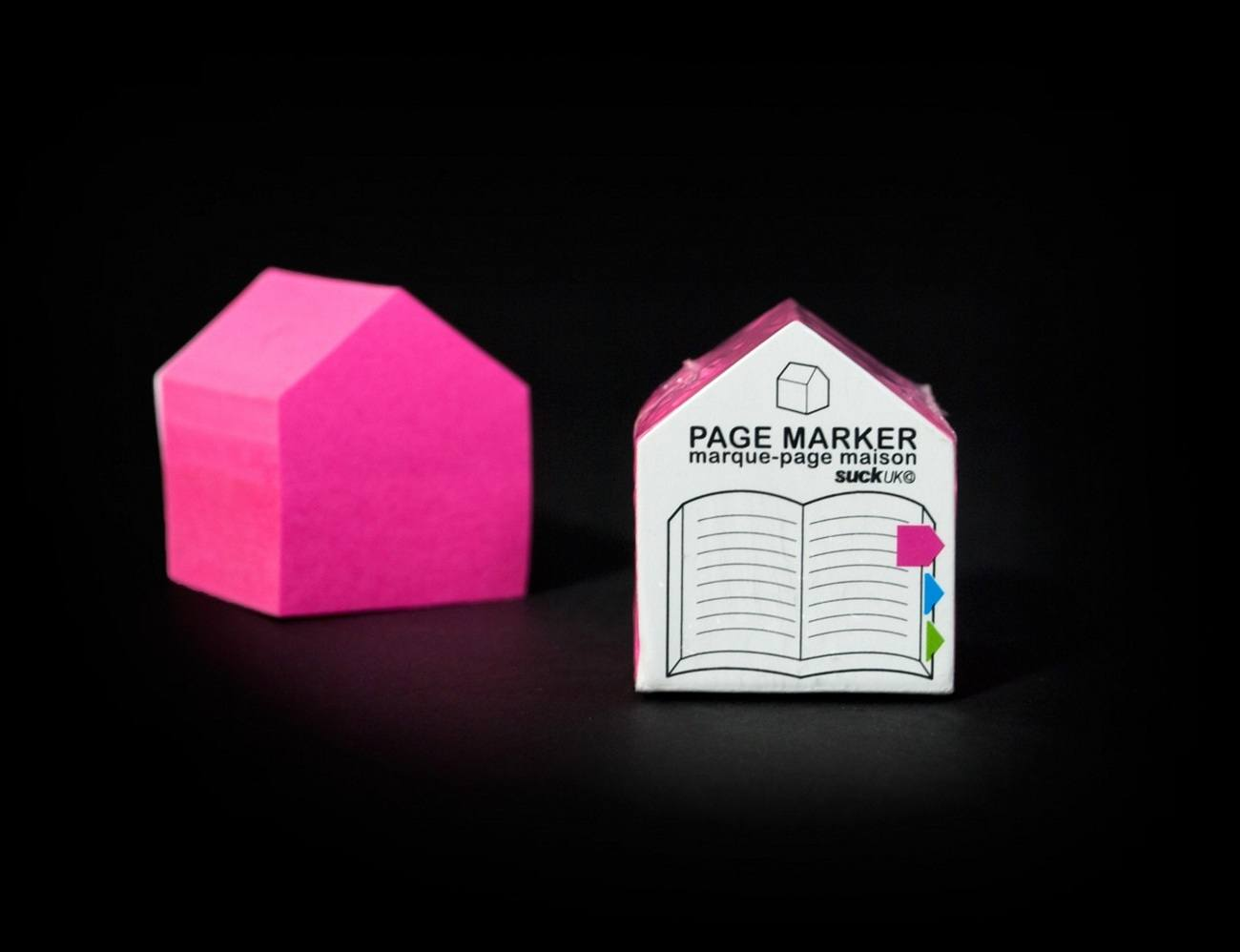 SUCK UK Sticky House Page Markers