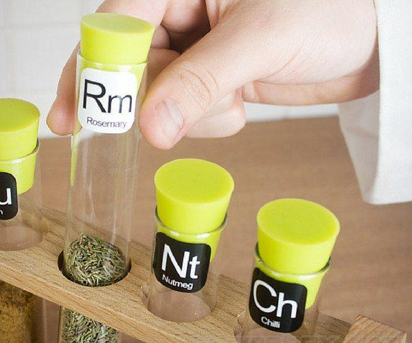 Scientific Spice Rack