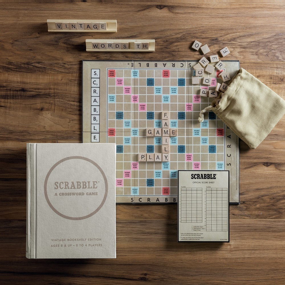 Scrabble Vintage Edition takes a fun game up a notch