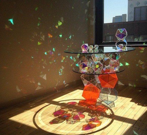 Sparkle Palace Cocktail Table