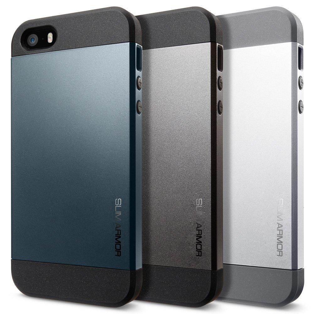 quite nice 23908 dd27d Spigen Slim Armor Case for iPhone SE/5s