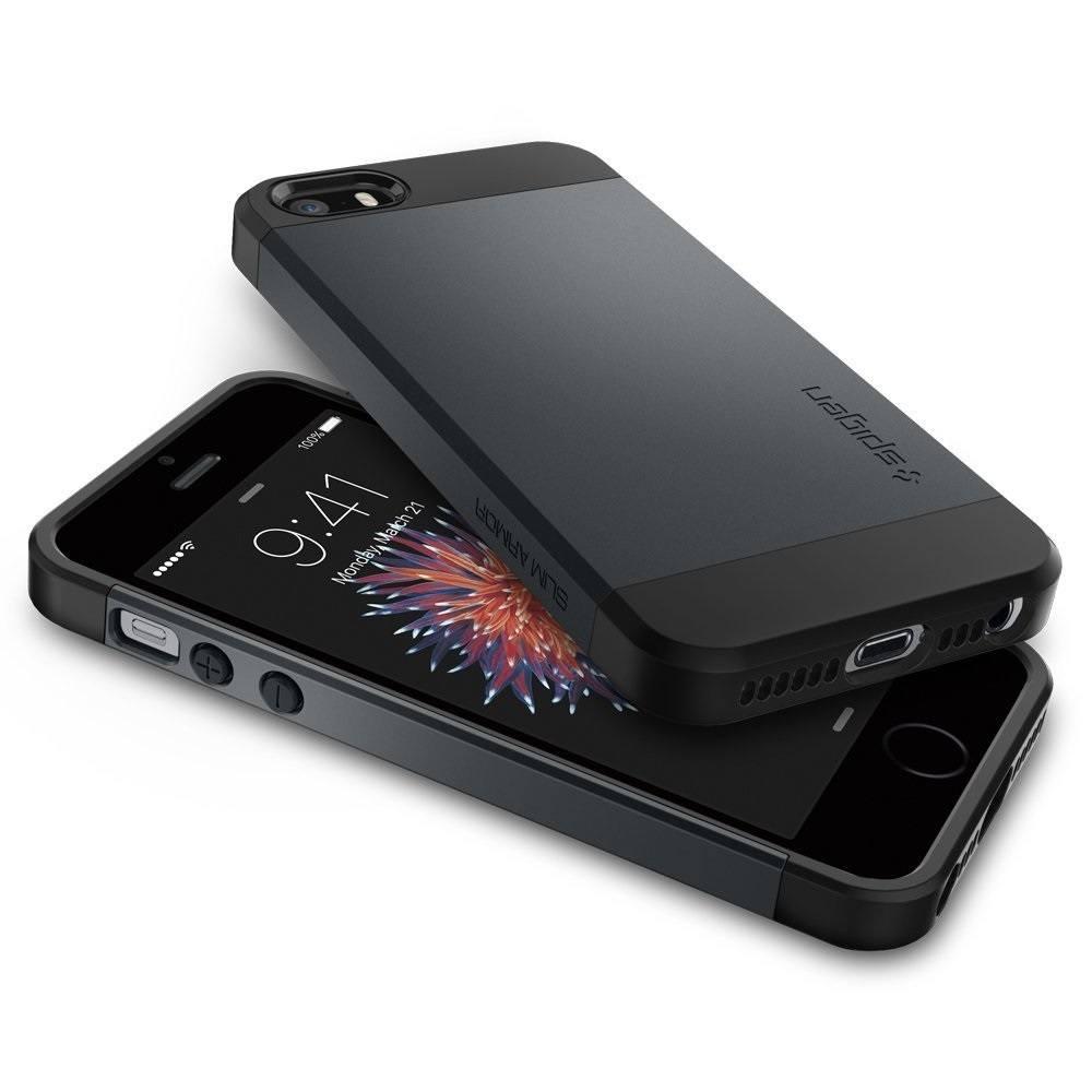 quite nice e7154 fa922 Spigen Slim Armor Case for iPhone SE/5s