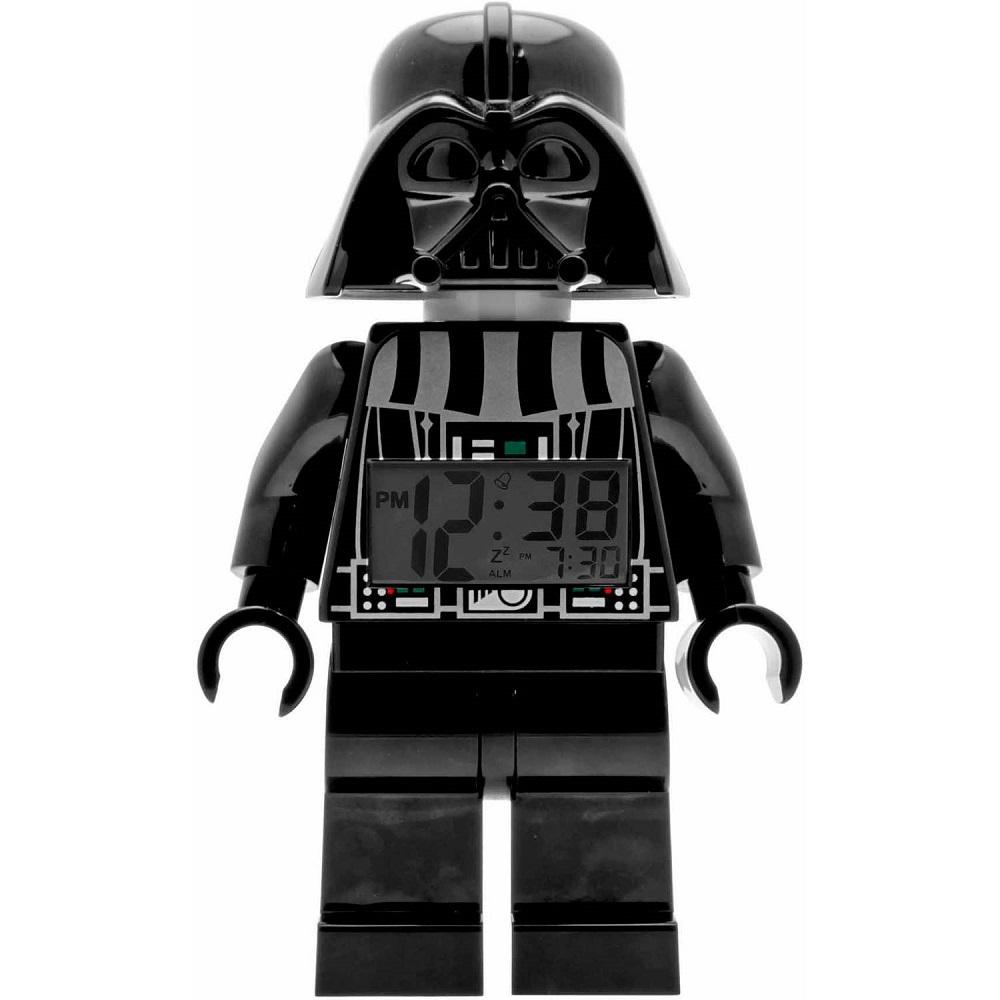 Star Wars Darth Vader Clock looks like a LEGO figurine