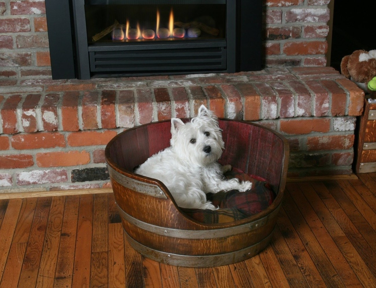 Wine+Barrel+Pet+Bed+By+Wine+Barrel+Creations