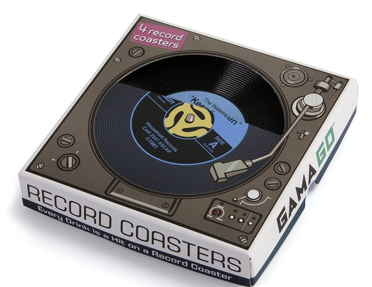 45 Record Coasters (By GAMAGO)