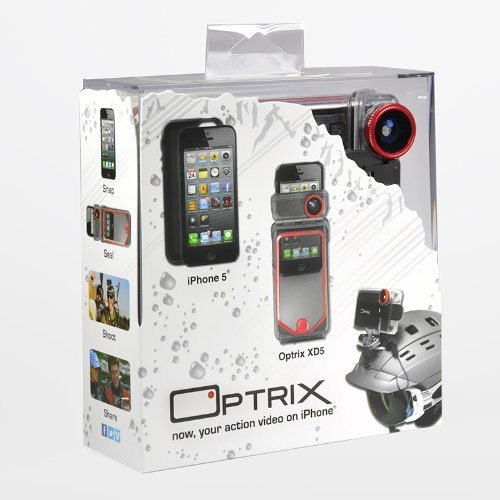 Optrix OPT-003 XD5 Waterproof Case for iPhone SE/5s