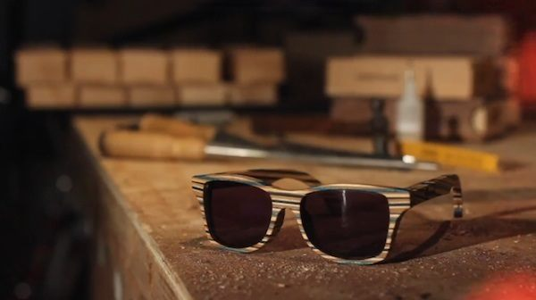 Canby Shades: Sunglasses Made of Broken Skateboard Deck