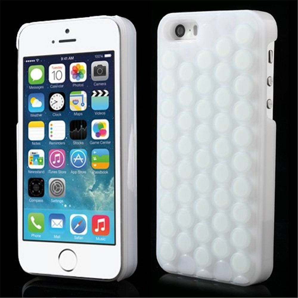 Cute Decompression Bubble Wrap iPhone Case by iAnko