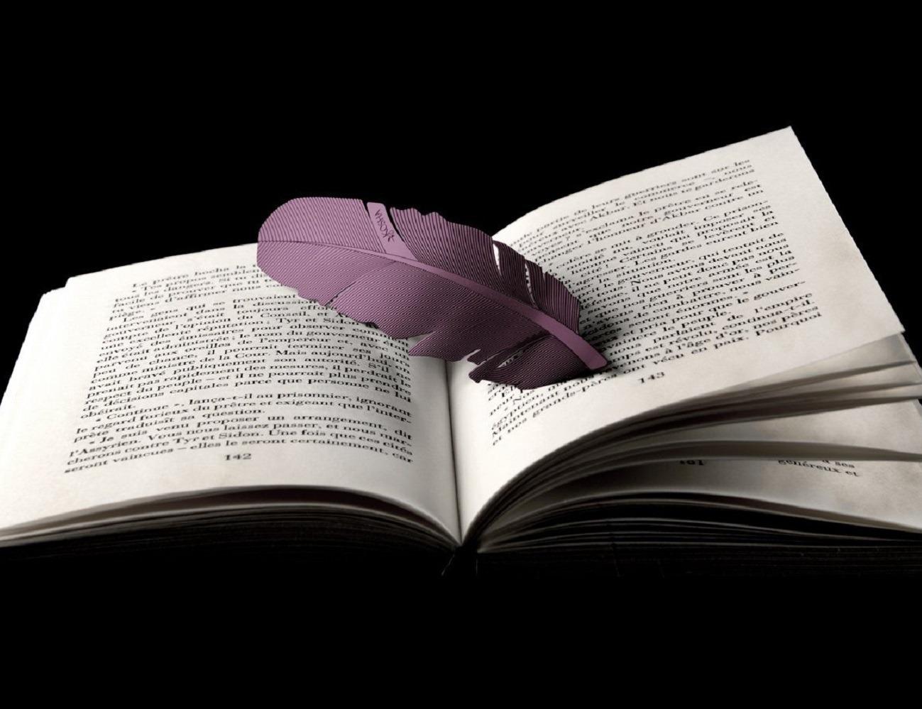 Feather Bookmark by Kosha