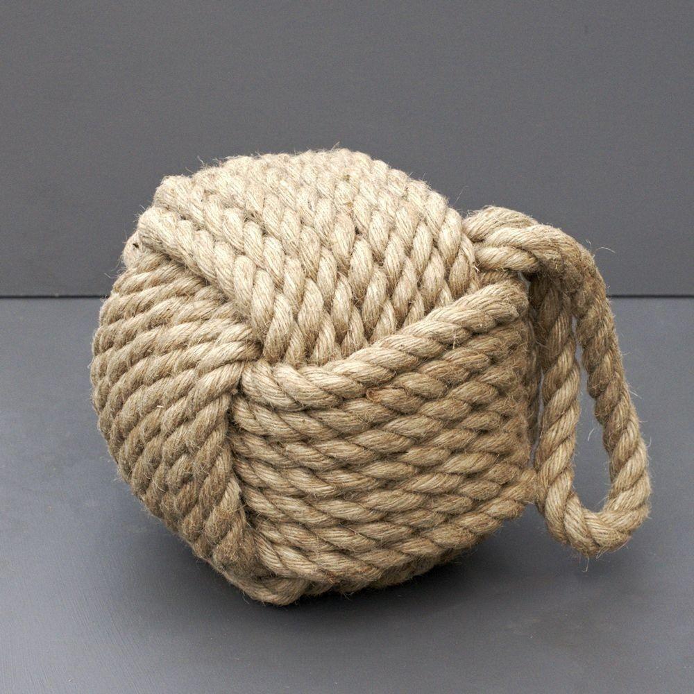 Heavy Rope Knot Doorstop