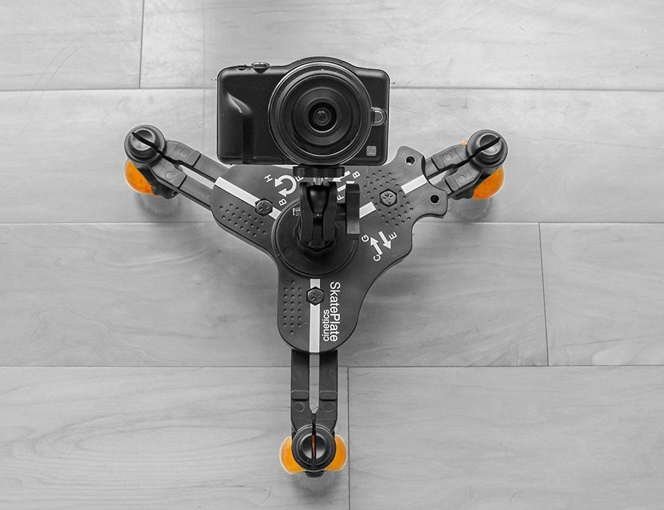 Miniskates – Three Wheels for Fluid Camera Movement