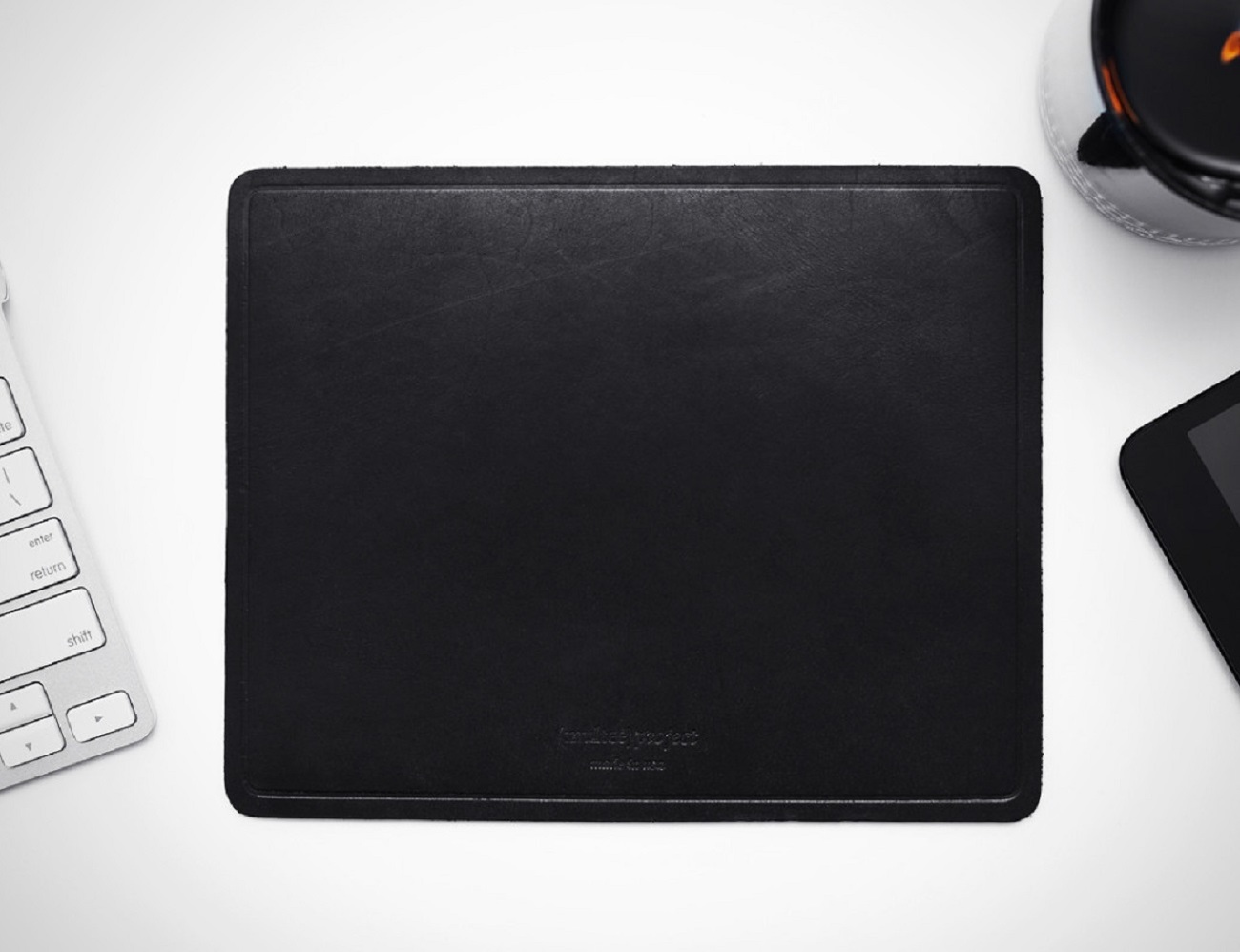 Natural Leather Mouse Pad By (Multee)Project