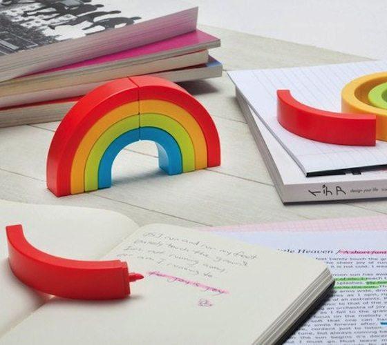 Rainbow+Highlighters