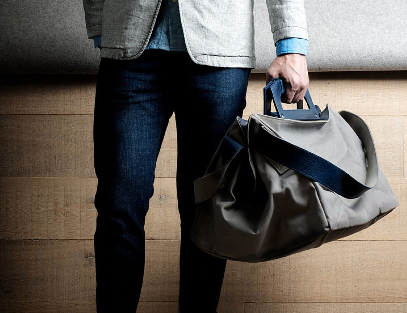 Square1 Holdall by Hardgraft