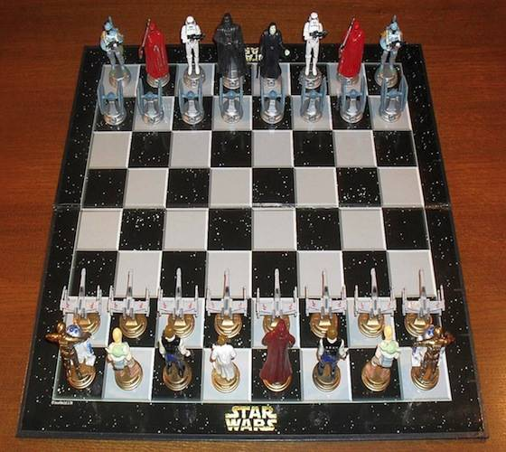 Star Wars Classic 3d Chess Set Review