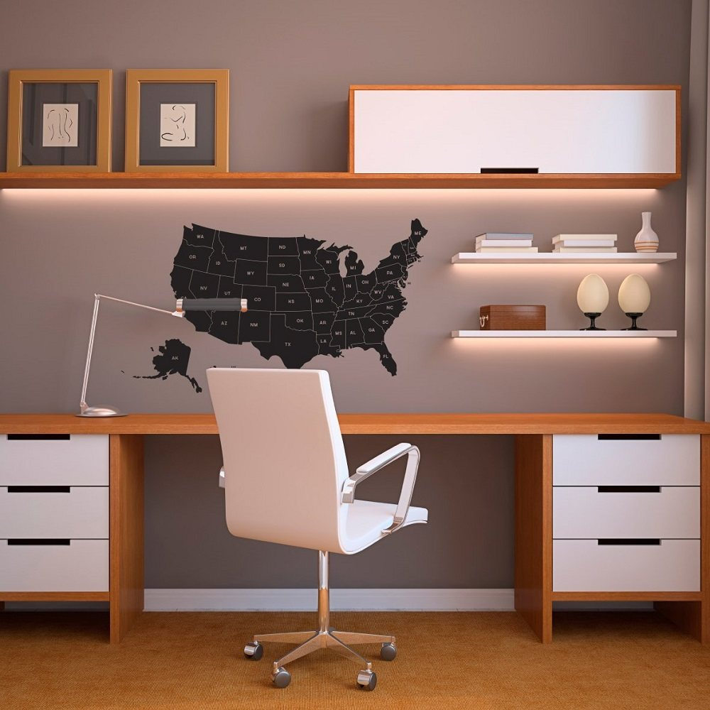 United+States+Map+Wall+Decal