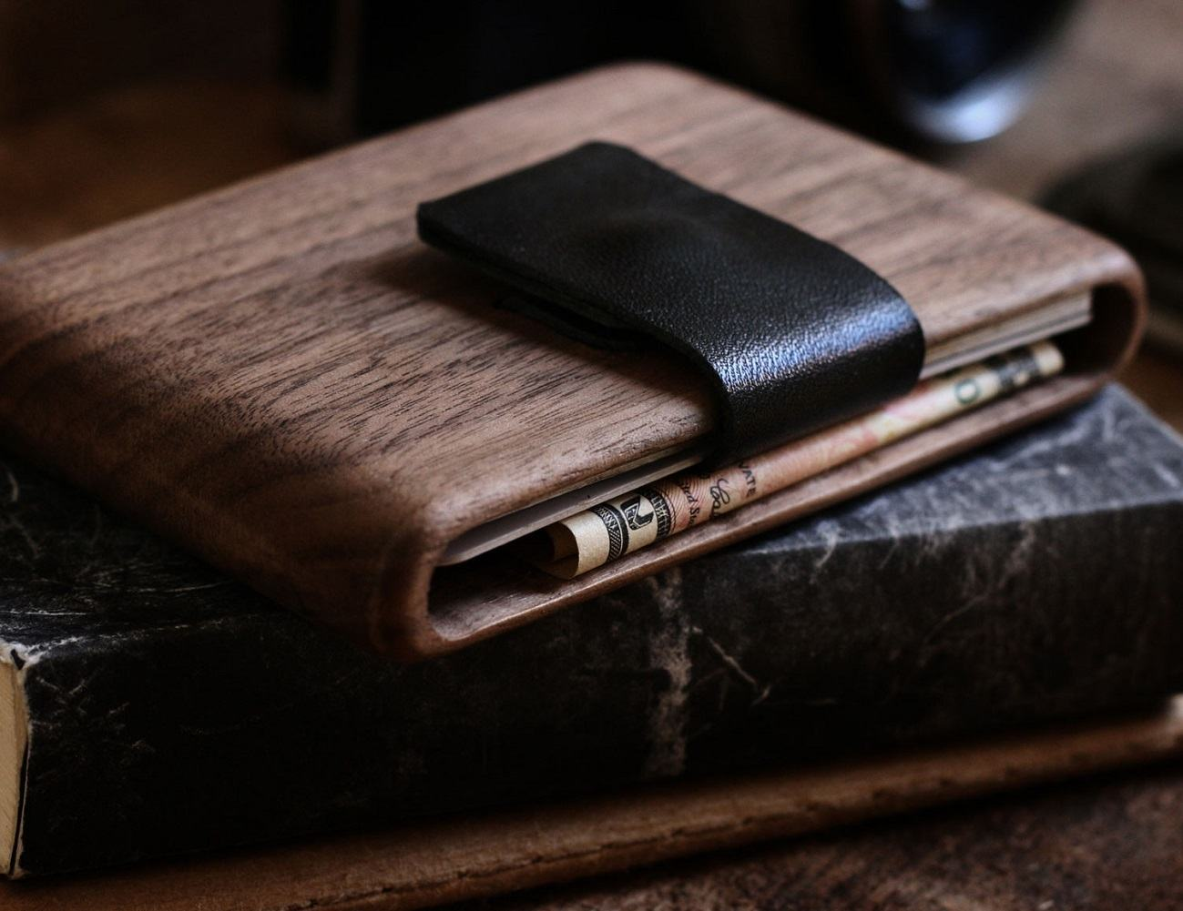 Walnut Wallet by Haydanhuya