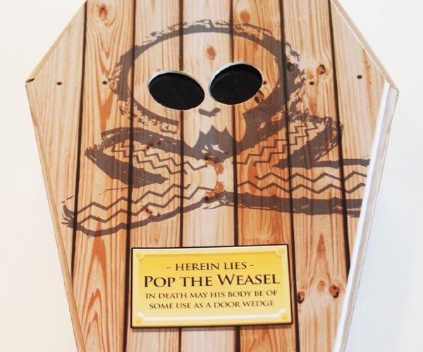 Pop The Weasel – Roadkill Toys