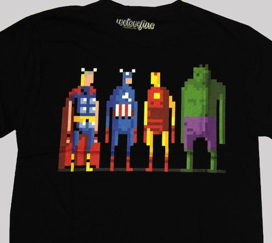 8-Bit Avengers Tee