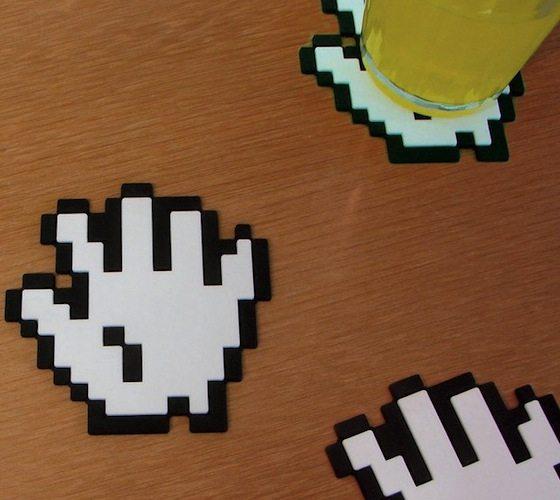 8-bit+Hands+Coasters