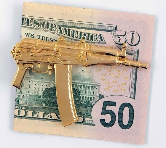 AKS-74U Money Clip BY Mathmatiks