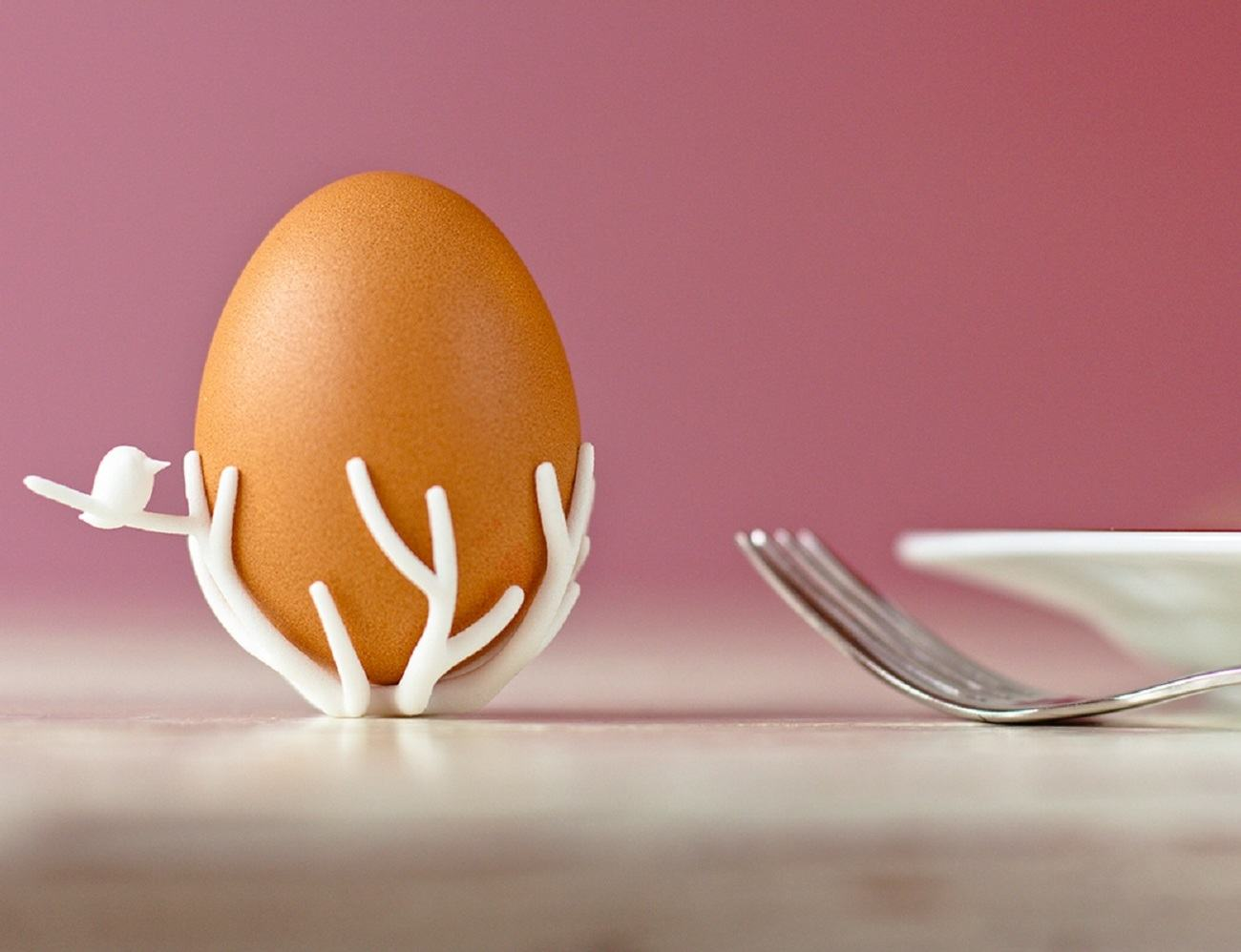 Birdsnest Eggcup – 3D Printed Eggcup for Your Breakfast Table